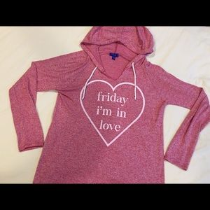City streets Friday I'm in love Sweater - L